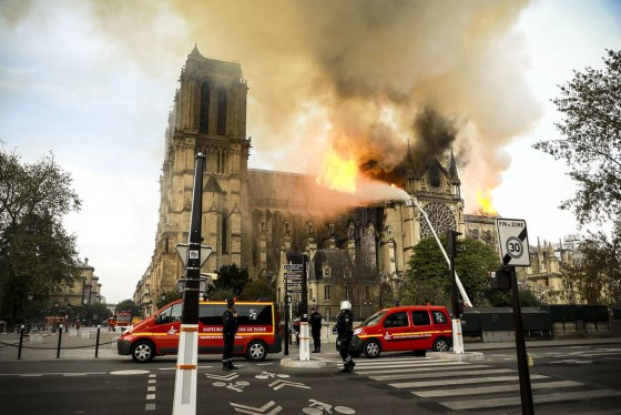 Fire at Notre Dame