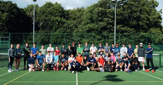 Triumphs and trials for UEA Tennis
