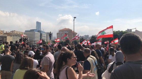 Anti-government protests erupt in Lebanon