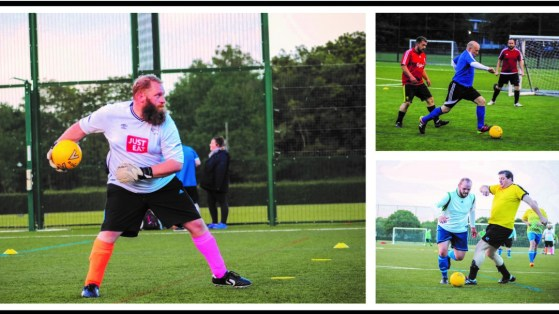 Man v Fat: Smashing goals on the pitch and on the scales