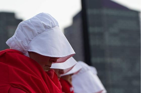 The politics of dystopia: The Handmaid's Tale