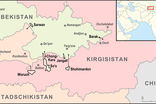 Tajikistan and Kyrgyzstan forces clash over border dispute