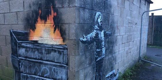 Banksy confirms East Anglian coastal murals were his creations