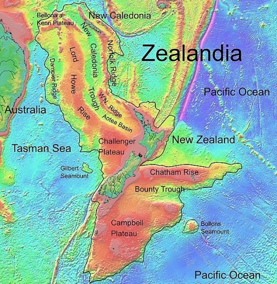 Ancient Continent Of Zealandia Raises New Questions For Geologists