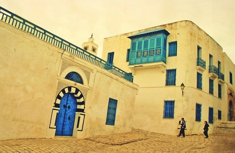 Sidi Bou Said by https://www.flickr.com/photos/bilwander/
