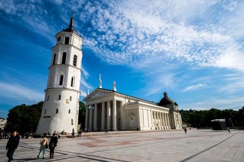 Vilnius Cathedral - if it's not baroque, don't fix it!