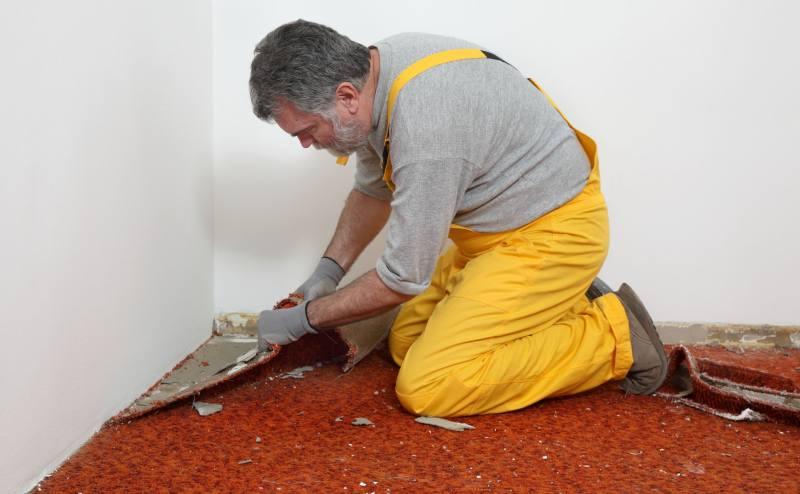 Remove Glue From Concrete Slab