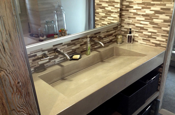 Long Island NYs Source for Concrete Countertops and Custom Concrete Furniture