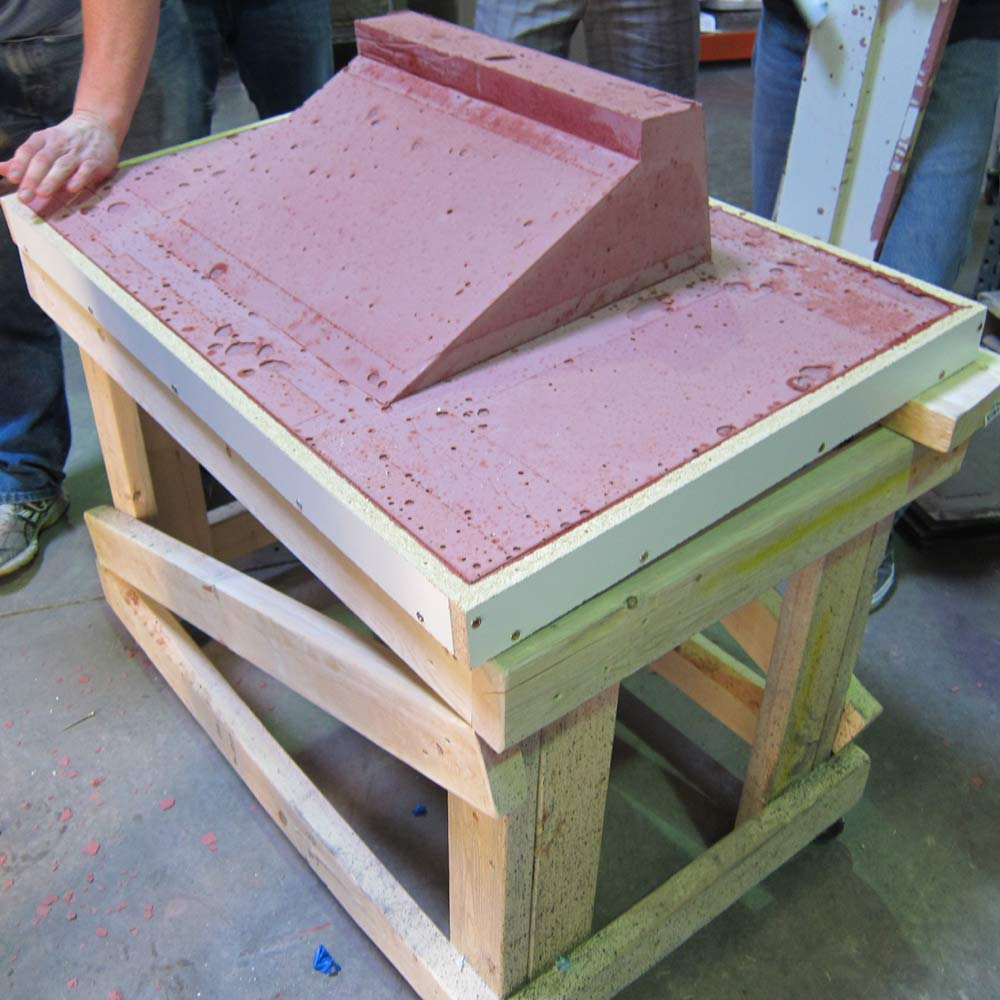 Concrete Workbench Top