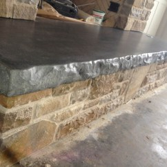 Concrete Kitchen Countertops Extractor Fan Furniture - Creations Nwa