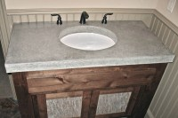 Concrete Bathroom Vanities, Sinks, & Countertops