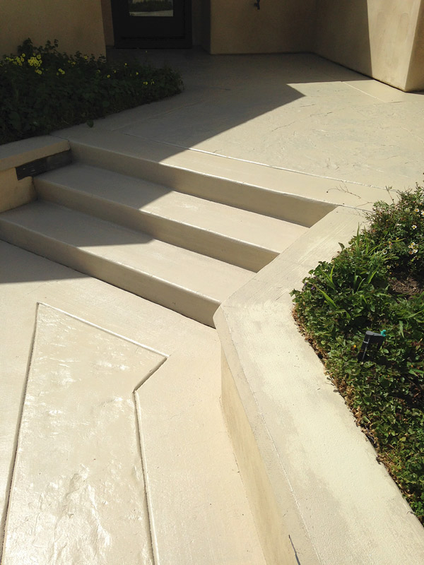 Concrete Hardspace Transforms Residential Curb Appeal