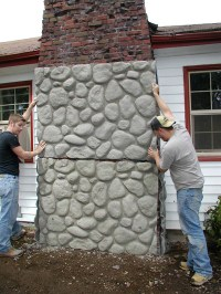 ICF Walls Become Vertical Canvases for Decorative Concrete ...