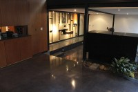 Refurbishing A Black Concrete Floor In A Modern Home ...