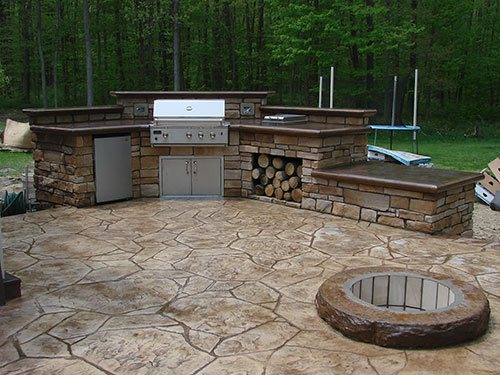 outdoor kitchens small white kitchen sinks creating concrete in cold climates decor