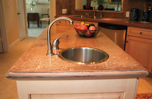 An Alternate Countertop Forming Method