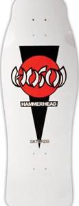 Christian Hosoi Hammerhead OG White Deck