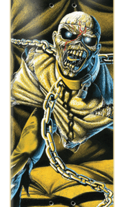 Zero Skateboards - Iron Maiden Piece of Mind Deck - 8.37 inches wide.