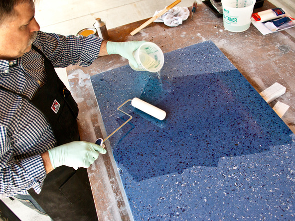 Make Recycled Glass Countertops  CHENG Concrete Exchange