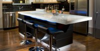 Concrete Kitchen Island