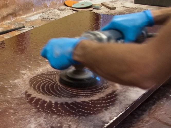 How To Polish Concrete Countertops