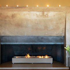 Small Kitchen Plans Aid Professional 600 Concrete Fireplace By Architectural Interiors ...