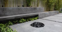 Modern Concrete Patio | CHENG Concrete Exchange
