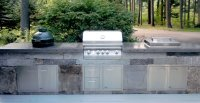 Sullivan Outdoor Kitchen | Concrete Exchange