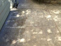 Concrete Stain and Sealer Patio Makeover | Concrete Exchange