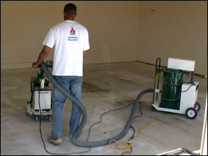 Grinding Down Concrete Floor