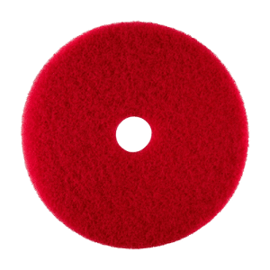 17 inch red buff pad