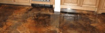 Kitchen Acid Stain