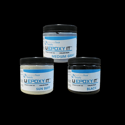 liquid epoxy pigment