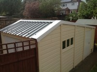 Garage Roof Fascias & Refurbished Garage With New Roof And ...