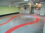 Restaurant Concrete Floor