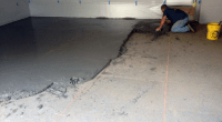 Fixing a Poorly Sloped Concrete Floor for Drainage ...