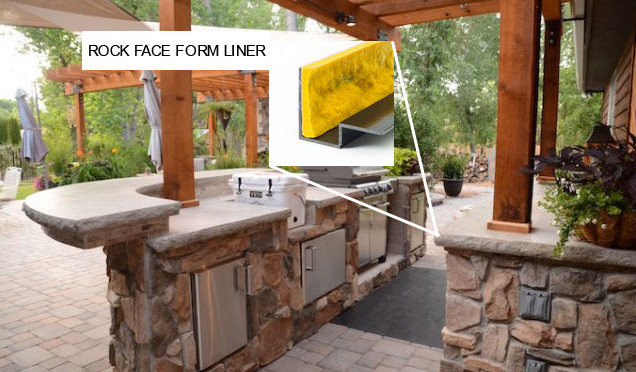 Construct Your Own Outdoor Kitchen with Concrete