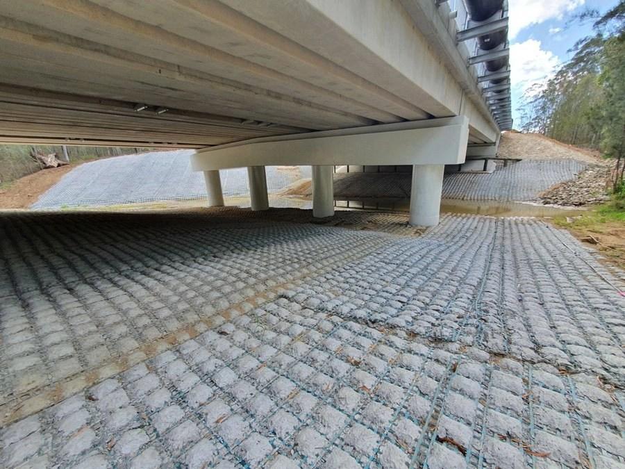 Bridge Abutment at Ipswich QLD – 0122