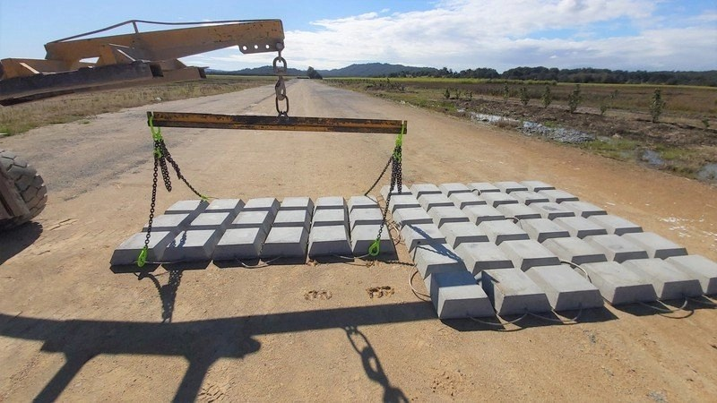 Articulated Concrete Blocks for Scour Protection