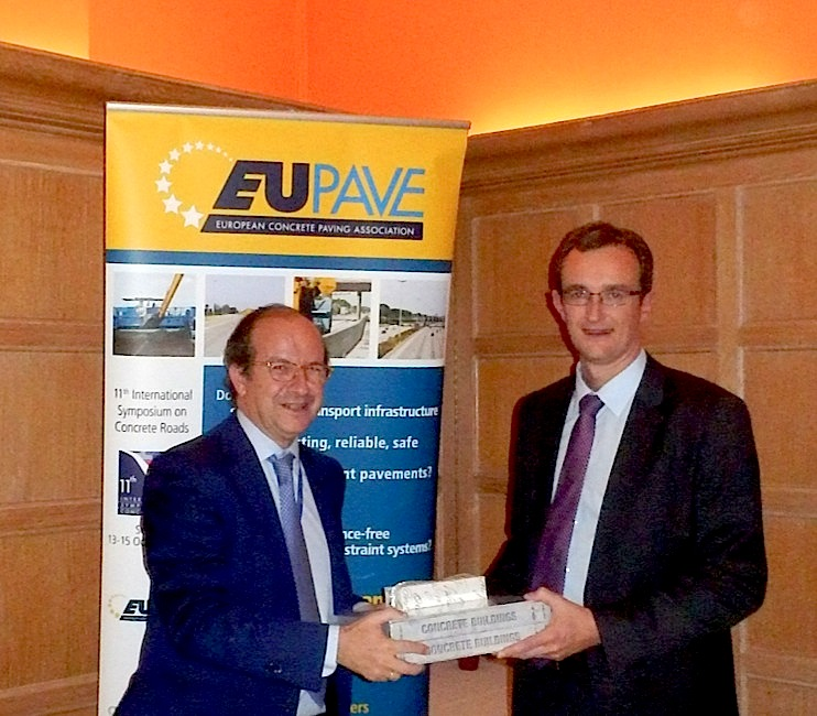 "EUPAVE Christmas Dinner Debate: ""Concrete Pavements—a Flagship Industry of the Circular Economy"""