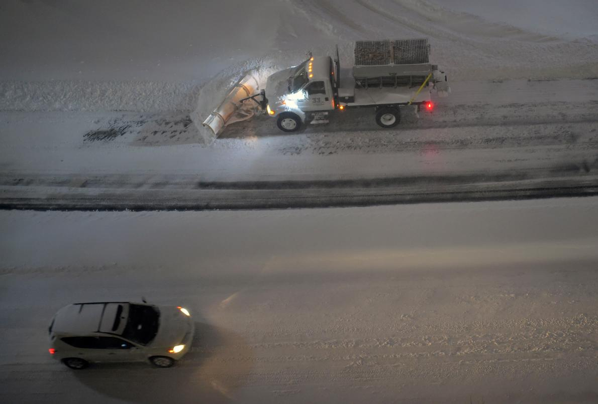 Shovels Nor Plows Needed: Special Concrete Could Melt Mounds of Snow