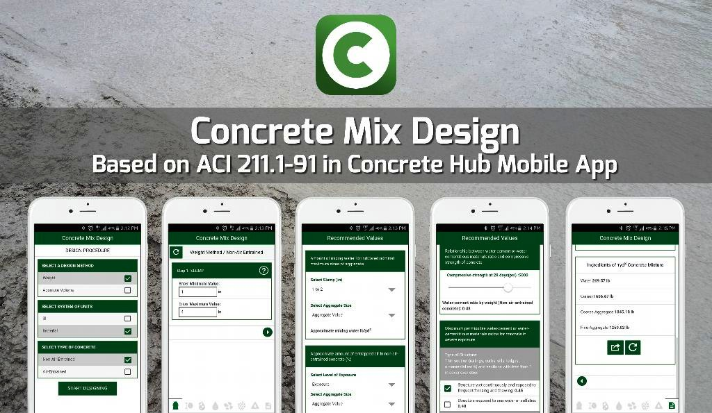 Ottawa, Canada: Concrete Mix Design Mobile App