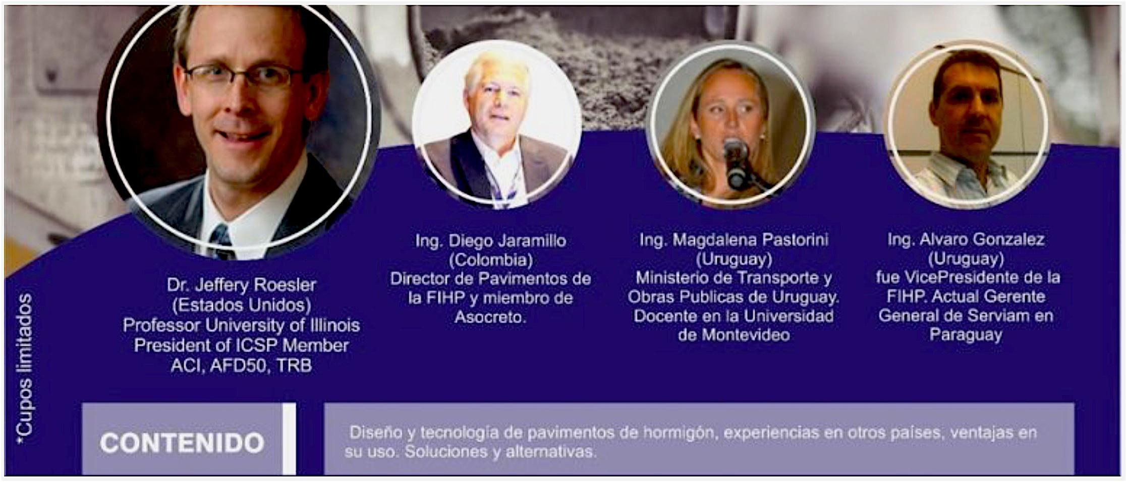 """Paraguay: ISCP President Presented at """"Seminario Sobre Pavimento de Hormigón Reúne en Nuestro País a Referentes Internacionales"""" in November"""