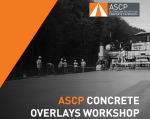 ASCP to Conduct 2 Concrete Overlays Workshops in Sydney