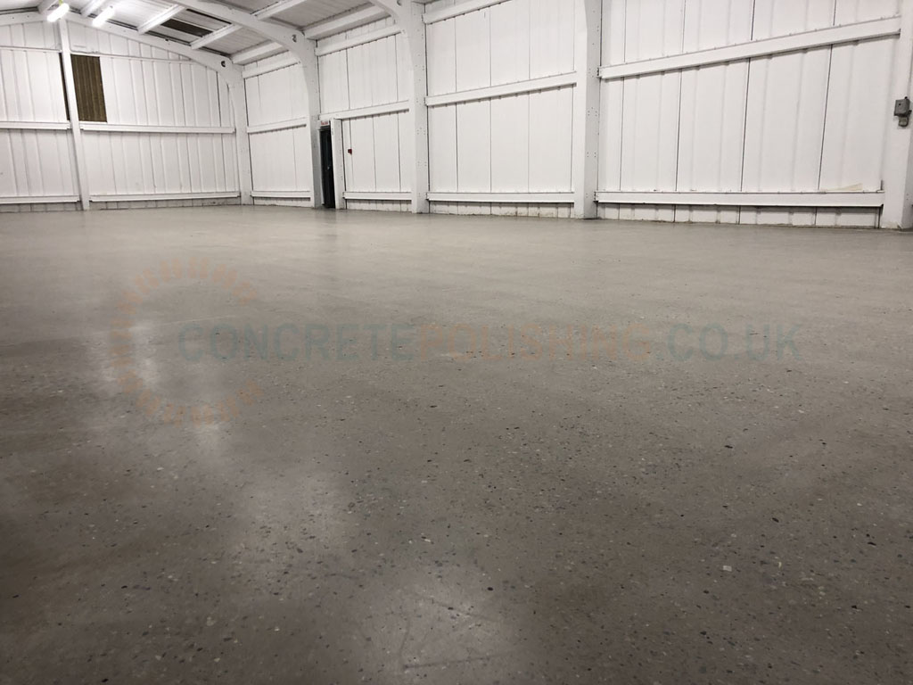 Polished Concrete Small Warehouse