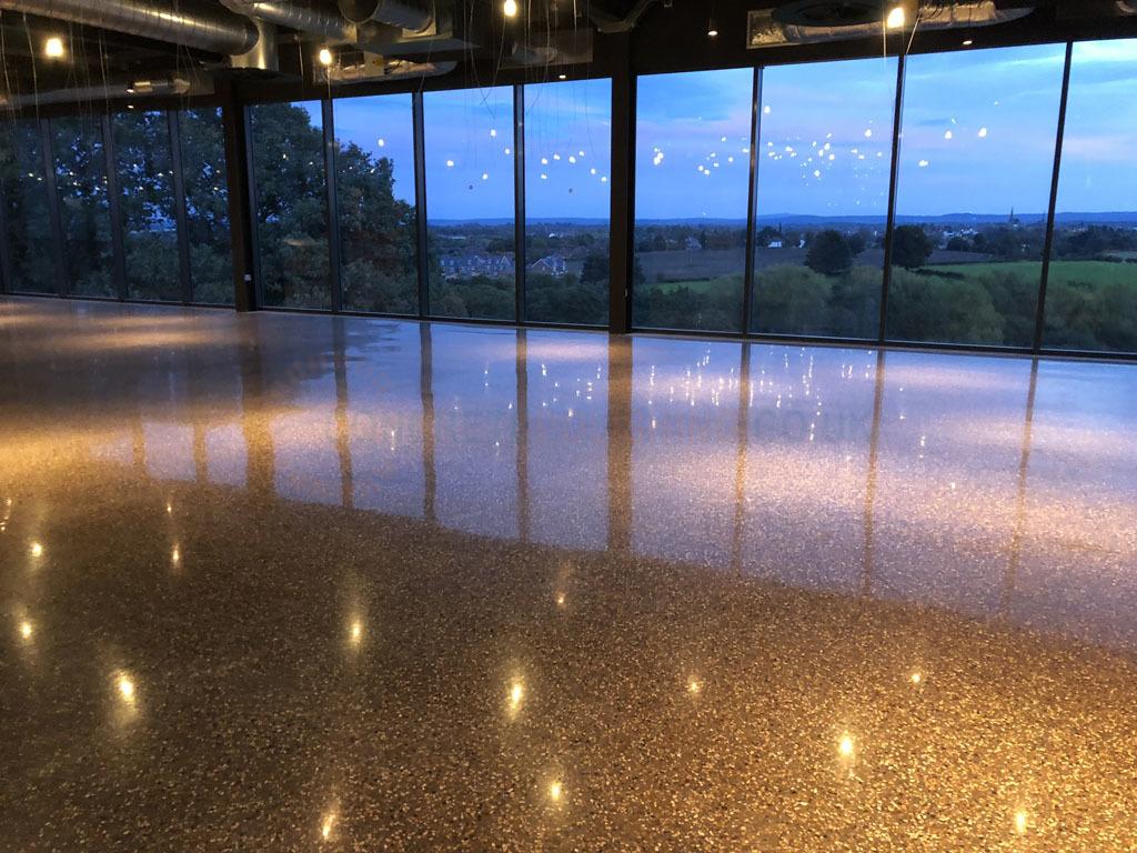 Award Winning Polished Concrete Restaurant