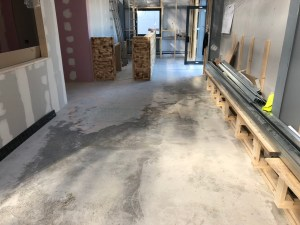 Polished Concrete Floor Gym