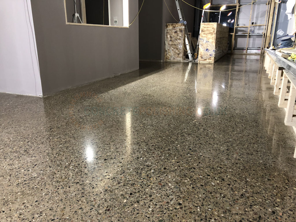 Polished Concrete Floor Gym