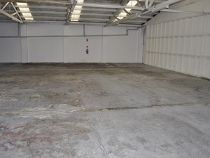 Unreflective Concrete Floor