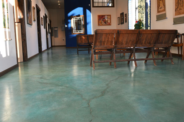Concrete Staining  Dying  Houston Flooring Contractor